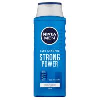 NIVEA Strong Power Šampon pro muže 400 ml