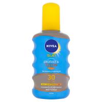 NIVEA Sun Protect & Bronze Olej na opalování podporující zhnědnutí OF 30 200 ml