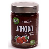 NONAGE Jahodový ovocný džem 200 g BIO