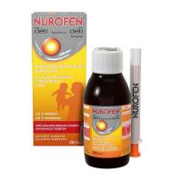 NUROFEN Pro děti pomeranč suspenze 20 mg/ml  200 ml