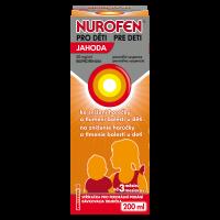 NUROFEN Pro děti jahoda suspenze 20 mg/ml 200 ml II