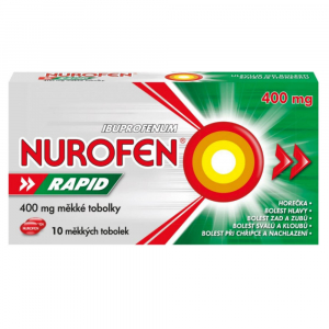 NUROFEN Rapid 400 mg 10 měkkých tobolek