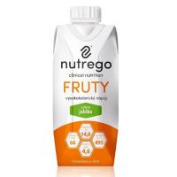 NUTREGO FRUTY Výživa 12 x 330 ml, Příchuť: Jablko