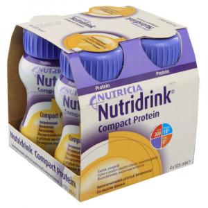 NUTRIDRINK Compact protein drink s banánovou příchutí 4 x 125 ml