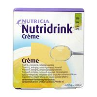 NUTRIDRINK Creme s příchutí Vanilkovou 4x125 g