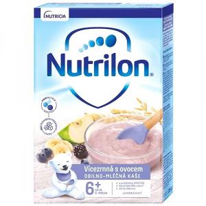 NUTRILON Pronutra Obilno-mléčná kaše Vícezrnná s ovocem 225 g