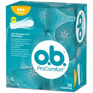O.B. ProComfort Normal tampony 56 ks