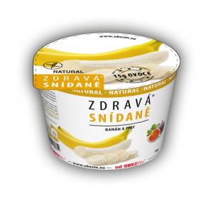 OBEZIN Zdravá snídaně Banán a fíky 78 g