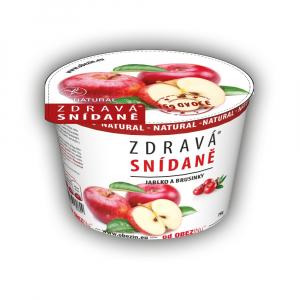 OBEZIN Zdravá snídaně Jablko a brusinky 78 g