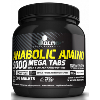 OLIMP Anabolic Amino 9000 komplexní aminokyseliny 300 kapslí