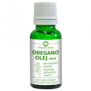 PHARMA ACTIV Oregano olej s kapátkem 20 ml