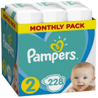 PAMPERS Baby Monthy Box 3x76 ks ( 4 - 8 kg )