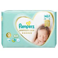 PAMPERS Premium Care 0 NEWBORN do 3 kg 30 kusů