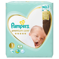 PAMPERS Premium Care 1 Newborn 2-5kg 78 ks