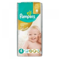 PAMPERS Premium Care 4 MAXI 7-14 kg 52 kusů