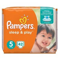 PAMPERS Sleep&Play 5 JUNIOR 11-16 kg 42 kusů