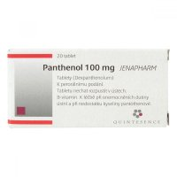 PANTHENOL 100 MG JENAPHARM  20X100MG Tablety