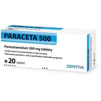 ZENTIVA Paraceta 500 mg 20 tablet