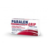 PARALEN GRIP Chřipka a bolest 500 mg 12 tablet