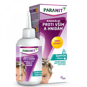 PARANIT Paranit Radikální šampon 100 ml + hřeben