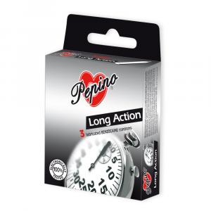 PEPINO Kondomy Long Action 3 kusy