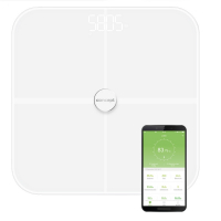 PERFECT HEALTH VO4010 Osobní váha diagnostická 180 kg, bílá, Barva: Bílá