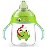PHILIPS AVENT Hrneček pro první doušky Premium 260 ml zelený