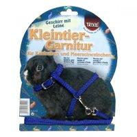 TRIXIE Postroj pro zakrslého králíka + vodítko 8 mm / 1,20 m