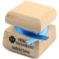RAE Přírodní krémový deodorant indický lotos čistá krabička 15 ml