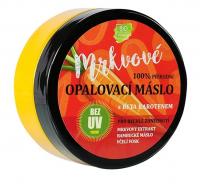 VIVACO Přírodní opalovací mrkvové máslo bez UV filtrů 150 ml