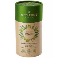 ATTITUDE Přírodní tuhý deodorant Super leaves Olivové listy 85 g