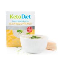 KETODIET Proteinová polévka se sýrovou příchutí 7 porcí