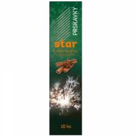 Prskavky Star s vůní skořice