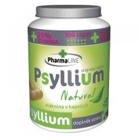 PHARMALINE Psyllium Natural 125 kapslí