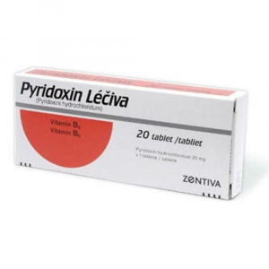 PYRIDOXIN 20x20 mg tablety
