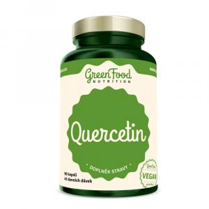 GREENFOOD NUTRITION Quercetin 90 kapslí