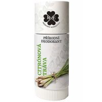 RAE Přírodní deodorant roll-on Citronová tráva 25 ml