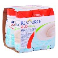 RESOURCE 2,0 kcal Fibre Neutrální 4x200 ml