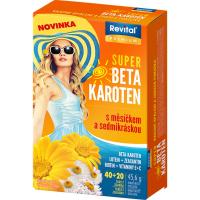 REVITAL Super Beta-karoten s měsíčkem a sedmikráskou 40+20 tablet