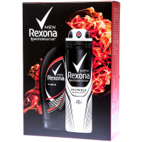 REXONA For men Invisible Black + White kazeta
