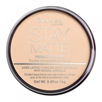 Rimmel London Stay Matte Long Lasting Pressed Powder 14g 006 Warm Beige