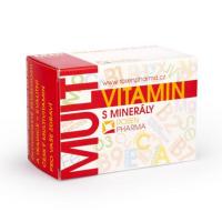 ROSEN Vitamin s minerály 60 tablet