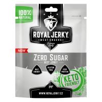 ROYAL JERKY Zero sugar hovězí sušené maso 22 g