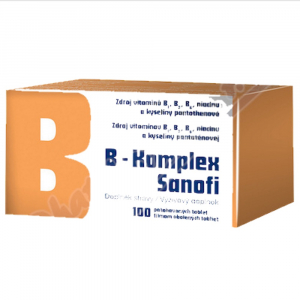 SANOFI B-komplex 100 dražé