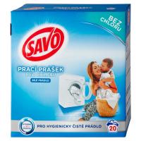 SAVO Bez chloru White Prací prášek 20 pracích dávek