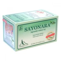 SAYONARA Japonský zelený čaj nálevové sáčky 20x1,5 g