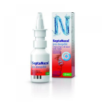 SEPTANAZAL 1 mg/ ml + 50 mg/ ml nosní sprej 10 ml