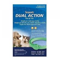 SERGEANT´S Antiparzitní obojek Dual pro malé psi a kočky 34 cm