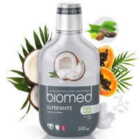 BIOMED Superwhite ústní voda 500 ml