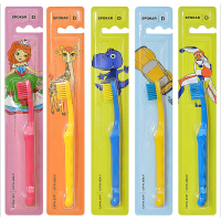 SPOKAR Dětský zubní kartáček extra měkký 1 kus